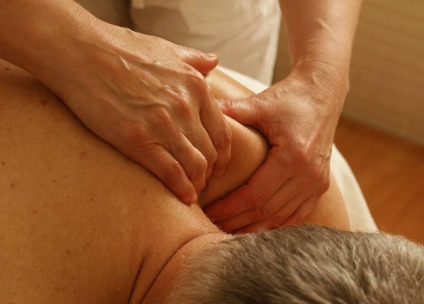 Terapia manualna masaż